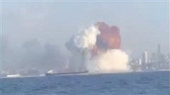 Vụ nổ ở Beirut khiến Hải quân Ukraine hoảng sợ