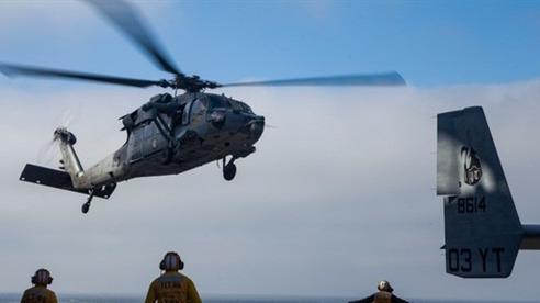 Thấy thi thể 8 lính Mỹ vụ thiết giáp đổ bộ chìm