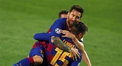 Messi lập siêu phẩm, Barca vào tứ kết đối mặt với Bayern