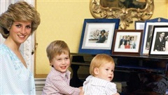 Từng trải qua tuổi thơ bất hạnh, Công nương Diana dồn hết tình thương cho hai anh em William - Harry