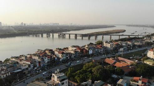 Hà Nội phát triển hai bên sông Hồng