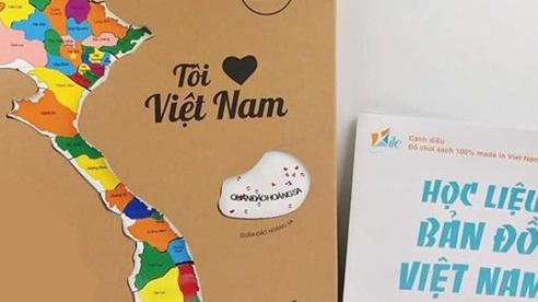 Bộ đồ chơi lắp ghép ''Tôi yêu Việt Nam''