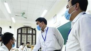 Thí sinh trở về từ vùng dịch sau mỗi môn thi phải theo dõi nhiệt độ