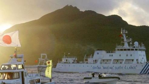 Nhật trực chiến, đề phòng tàu Trung Quốc xâm nhập khu tranh chấp