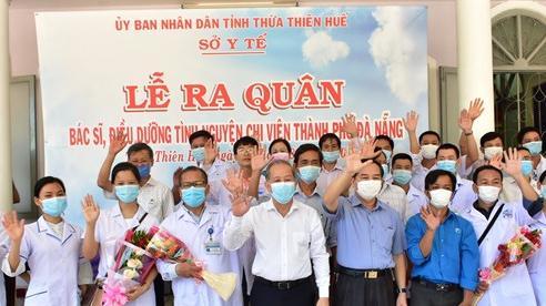 40 cán bộ y tế tỉnh Thừa Thiên-Huế vào hỗ trợ Đà Nẵng