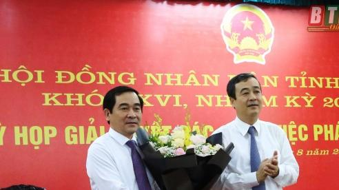 Tân Chủ tịch HĐND tỉnh Thái Bình vừa được bầu là ai?