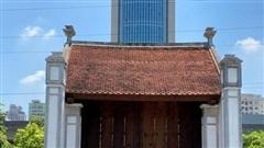 Phục dựng lại cổng làng Mông Phụ tại bảo tàng nghìn tỷ