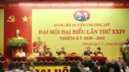 Đại hội đại biểu lần thứ XXIV Đảng bộ huyện Chương Mỹ tiến hành phiên trù bị