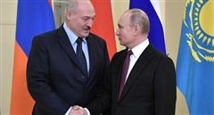 Ông Putin gửi thông điệp thắt chặt 'tình anh em' với Belarus