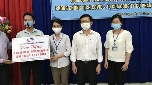 Khánh Hòa: Tiếp nhận 4.000 bộ Kit test phục vụ công tác xét nghiệm phòng chống dịch Covid-19