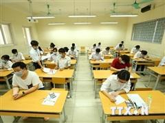 Quảng Ninh: Một số điểm thi có thí sinh tự do bị thiếu đề thi tổ hợp
