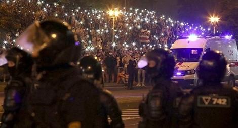 Belarus bắt 3.000 người biểu tình, Ba Lan đòi châu Âu phản ứng khẩn
