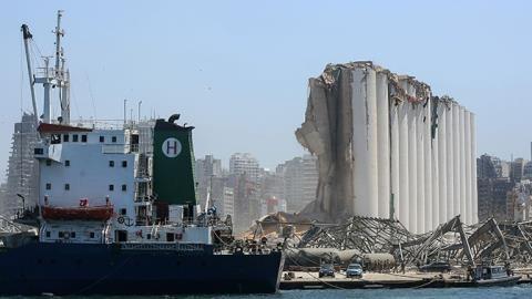 Thổ Nhĩ Kỳ đề xuất xây lại cảng Beirut từ đầu