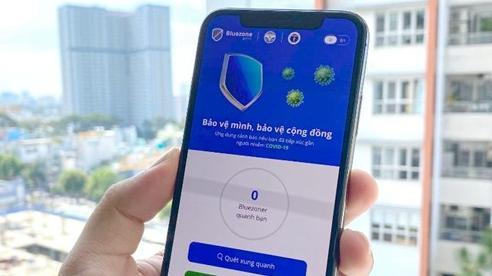 Ứng dụng Bluezone đã có hơn 13 triệu lượt tải về