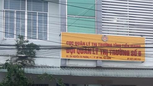 Vụ đội trưởng QLTT bị tố quan hệ bất chính với vợ người khác: Thu thẻ kiểm tra thị trường