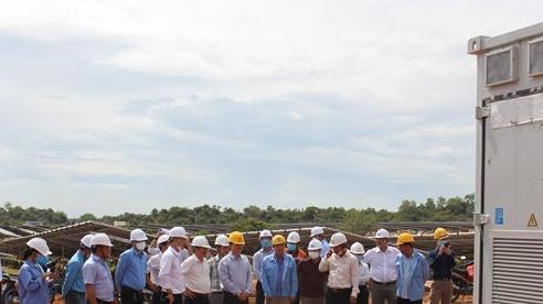 EVN nghiệm thu và đưa vào sử dụng nhà máy điện mặt trời Phước Thái 1