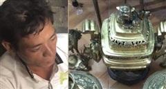 Bắt giữ đối tượng đột nhập vào đền chùa trộm cắp