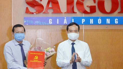Tổng Biên tập Báo Sài Gòn Giải Phóng đến nhận công tác tại UBND TP HCM