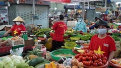 Từ 12/8, người dân Đà Nẵng được phát thẻ vào chợ, 3 ngày đi 1 lần