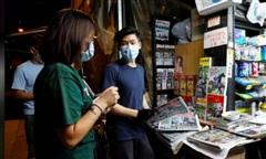 Hong Kong: Báo Apple Daily 'cháy hàng' sau khi chủ bị bắt theo luật an ninh mới