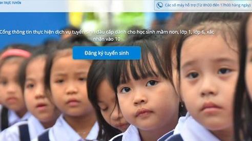 Tuyển sinh trực tuyến của Hà Nội đạt kết quả khả quan