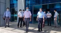 Thứ trưởng  Bộ Y tế Nguyễn Trường Sơn làm việc tại Quảng Trị