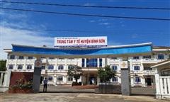 Bệnh viện dã chiến đầu tiên ở Quảng Ngãi đi vào hoạt động