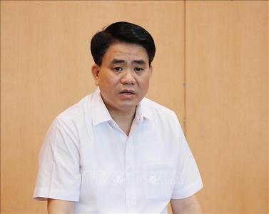 Đình chỉ sinh hoạt BCH Đảng bộ, đình chỉ chức vụ Đảng đối với ông Nguyễn Đức Chung