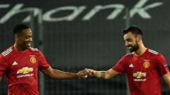 Bruno đá phạt thành công, M.U vào bán kết Europa League