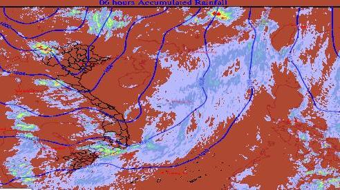 Thông tin chính thức về đợt mưa giông lớn sắp diễn ra ở miền Bắc