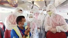 Thông báo về lịch bay đưa hành khách mắc kẹt từ Đà Nẵng về Hà Nội và TP.HCM