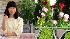Nhớ quê hương, mẹ Việt 'hô biến' khu vườn thành thiên đường bên trời Tây