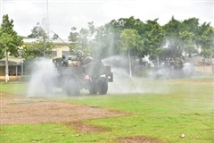 Bộ đội hóa học Quân khu 9 chung tay bảo vệ môi trường