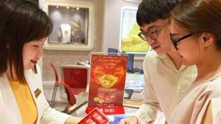 Giá vàng đảo chiều tăng trở lại, vượt xa mốc 56 triệu đồng/lượng