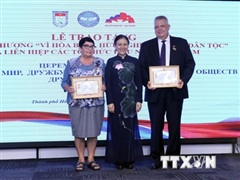 Tri ân các cá nhân đóng góp tích cực cho mối quan hệ Việt Nam-Nga