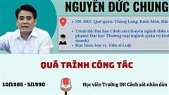 [Infographic] - Con đường từ 'lính trọng án' đến chức Chủ tịch Hà Nội của ông Nguyễn Đức Chung