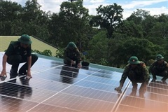 Điện năng lượng của Đồn Biên phòng Yok Đôn