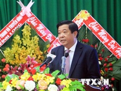 Tỉnh Vĩnh Long hoàn thành đại hội đảng bộ cấp trên cơ sở