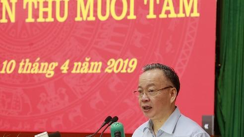 Phân công phụ trách điều hành Ban Cán sự đảng UBND TP. Hà Nội