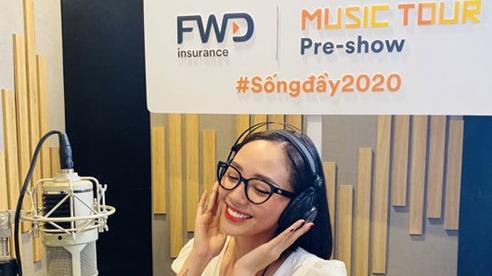 Tóc Tiên hát live trên FWD Music Tour Pre-show, lan toả sự lạc quan trong mùa dịch