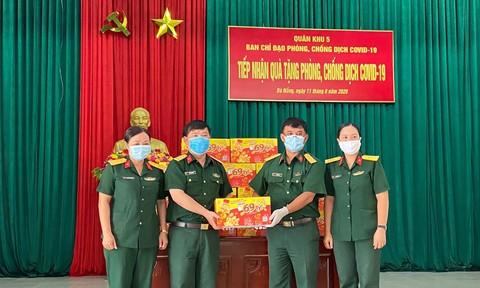 Trà Dr Thanh tiếp tục tiếp sức chiến sĩ Quân khu 5 và Quân khu 7