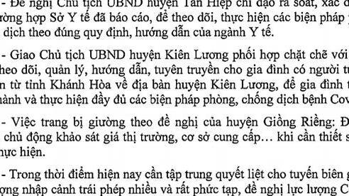 CDC Kiên Giang lên tiếng việc 1 người tử vong ở Khánh Hòa chuyển về đây chôn cất
