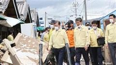 Hàn Quốc ban bố thêm 11 vùng thảm họa đặc biệt