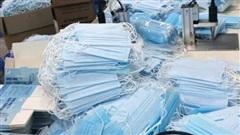 Phát hiện cơ sở sản xuất khẩu trang không rõ nguồn gốc tại Hà Nội