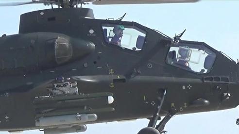 Xem trực thăng Trung Quốc thử nghiệm tên lửa mới