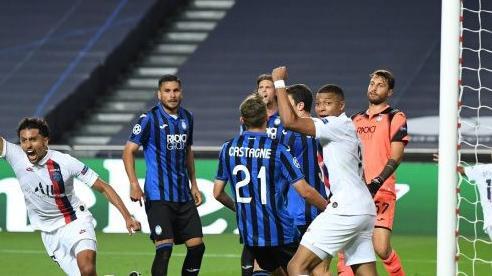 Tứ kết Cúp C1, Atalanta - PSG: Lội ngược dòng ở phút bù giờ giúp PSG tiến vào bán kết