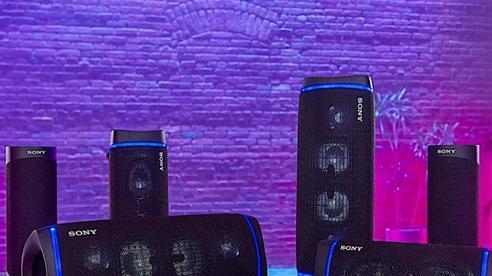 Sony ra mắt bộ 3 loa không dây SRS-XB43, SRS-XB33 VÀ SRS-XB23