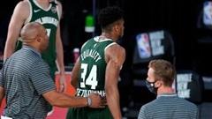 Giannis Antetokounmpo nhận án phạt từ NBA sau tình huống húc vào mặt đối phương