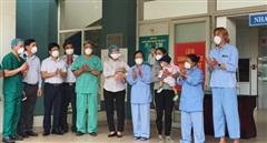 10 bệnh nhân COVID-19 ở Đà Nẵng khỏi bệnh và được xuất viện