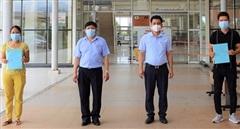 2 bệnh nhân COVID-19 tại Quảng Nam xuất viện